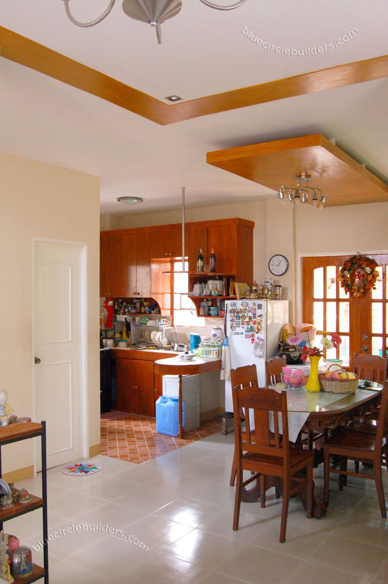 Kitchen Layout Residential Building Design Makati Philippines