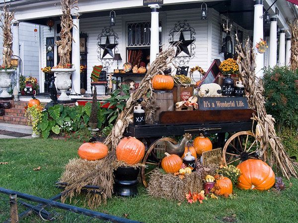 halloween house decoration ideas - Google Search Holidays - halloween decorations at home