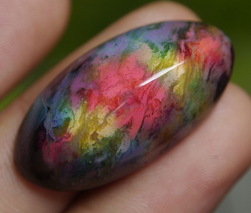 36.30 CT Beautiful Indonesian Abstract Picture Agate