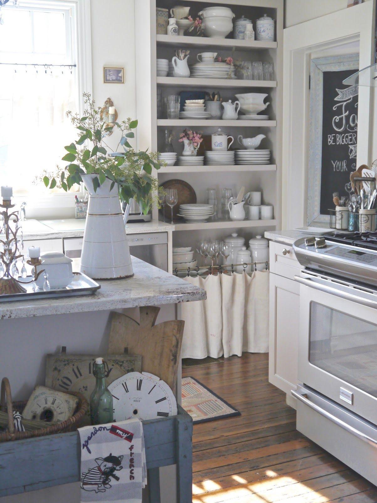 chateau chic beautiful home tour k che landh user und einrichten und wohnen. Black Bedroom Furniture Sets. Home Design Ideas