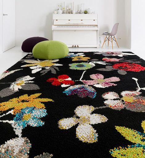 New Inspiration Flower Pattern Carpets By Casalis Belguim Patterned Carpet Decor Floor Rugs