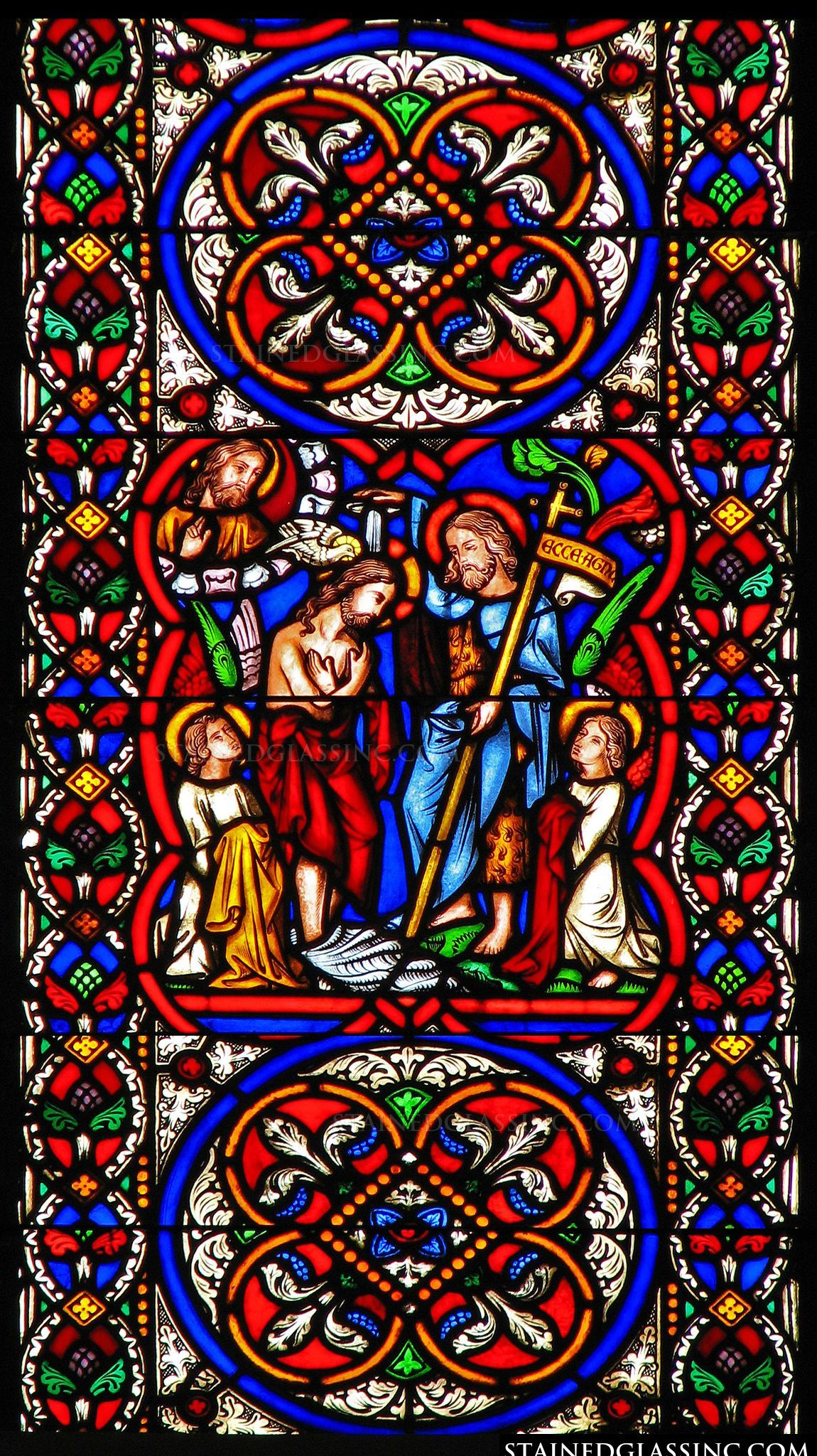 Pin On Stained Glass Church Windows