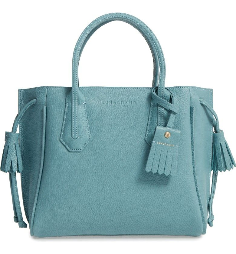 5cad86bcc961 lovely celadon tote from Longchamp