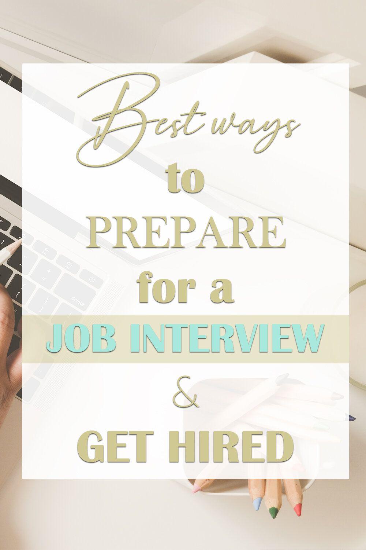 Melissa carvalho job interview tips job advice good
