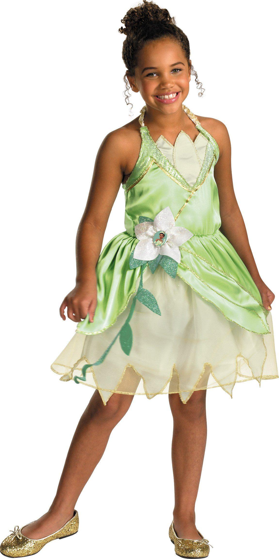Disney Tiana Deluxe Sparkle Toddler Child Costume