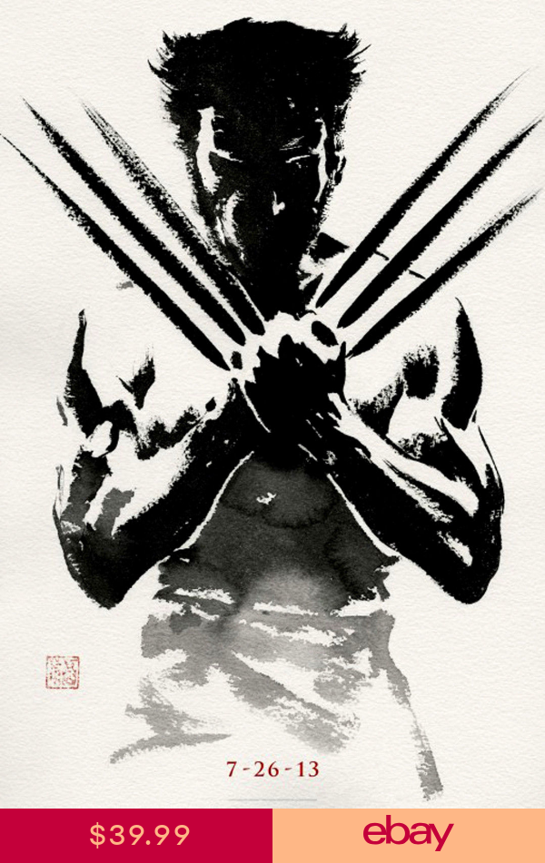 The Wolverine Classic Movie Large Poster Art Print Maxi A1 A2 A3 A4