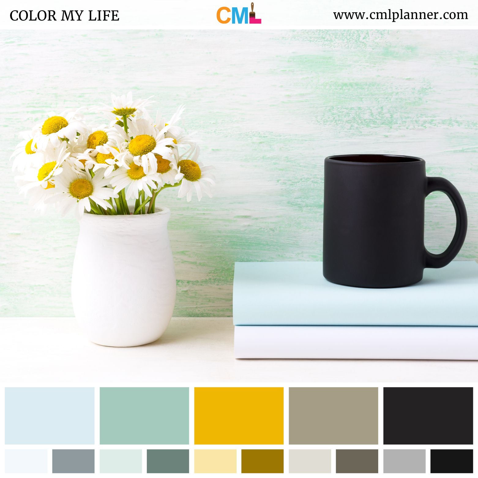 Todays Dose Of Color Inspiration Is A Relaxing Color Palette