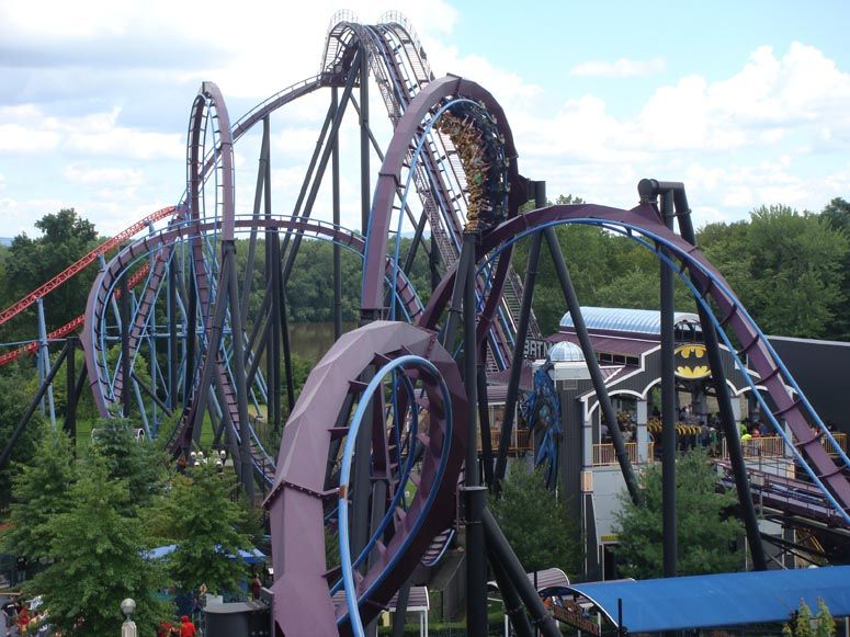 Six Flags New England Theme Parks Rides Amusement Park Rides Best Amusement Parks