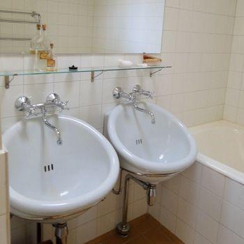 浴室にある洗面ボウルです パイミオのサナトリウムと同じもので 病室
