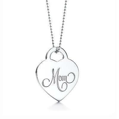 61e87c8cf Aw! this is lovely! Tiffany Pendants Tiffany Mom Heart Tag Pendant ...