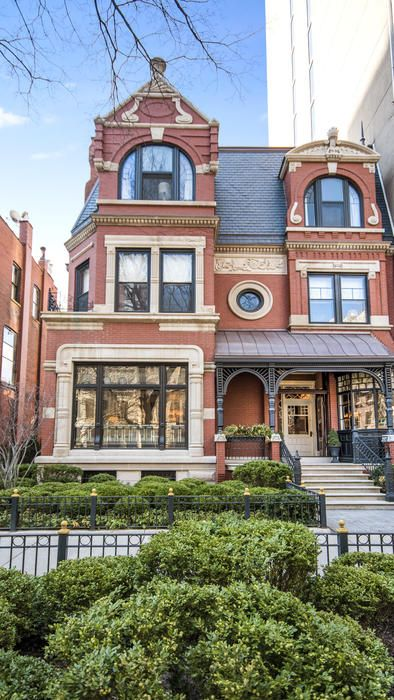 Queen Anne-style mansion in Chicago: $9.49M | Mansions ...