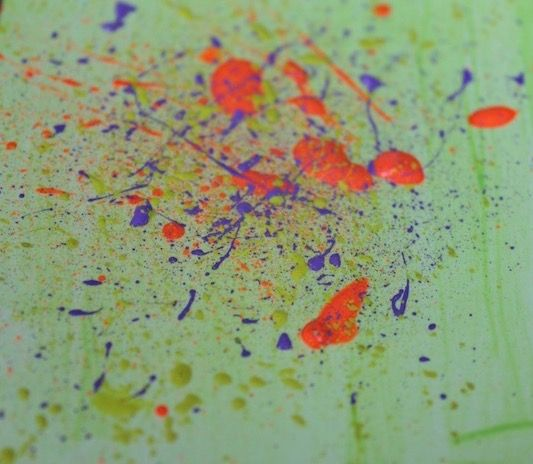 How To Make Acrylic Paint Splatter Easily In 2020 Texture