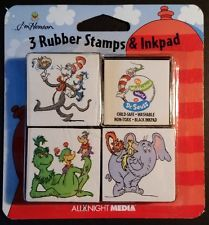 Celebrate Dr. Seuss Week with Vintage Rubber Stamps. Stamp the Kids hand or school papers for a good grade.