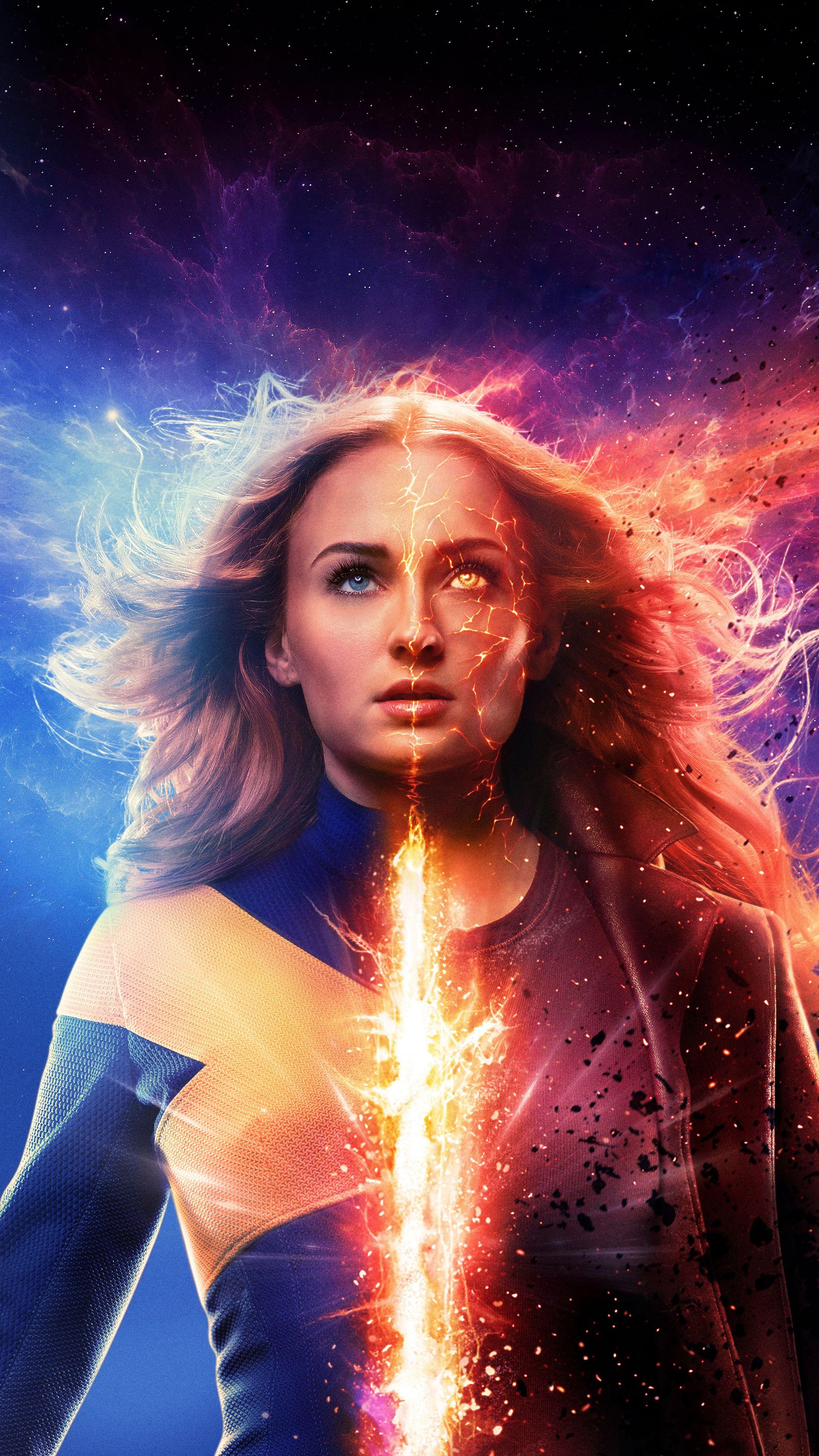 2019 X Men Dark Phoenix 4k In 2160x3840 Resolution Dark Phoenix Phoenix Marvel Phoenix Wallpaper