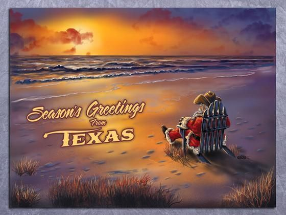 The Night Before Christmas (Texas style)