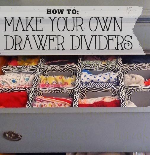 Tutorial Diy Drawer Dividers Bedroom Dresser Edition Diy