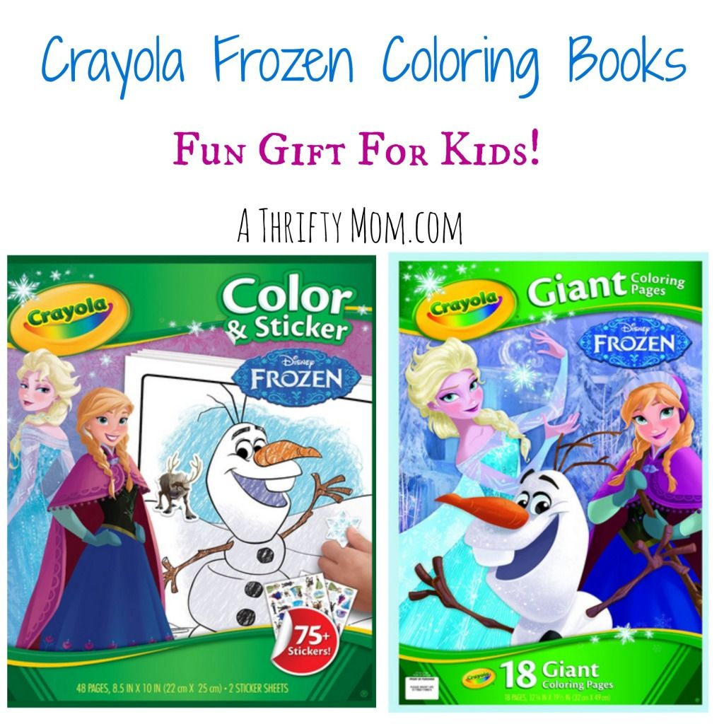 Crayola Frozen Coloring Books