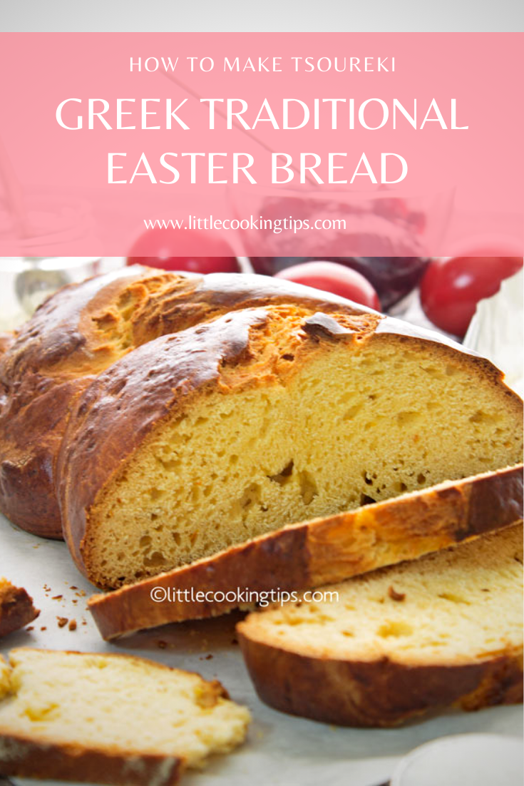 How To Make Greek Traditional Easter Bread Tsoureki In 2020 Greek Easter Bread Greek Easter Recipes Sweet Bread