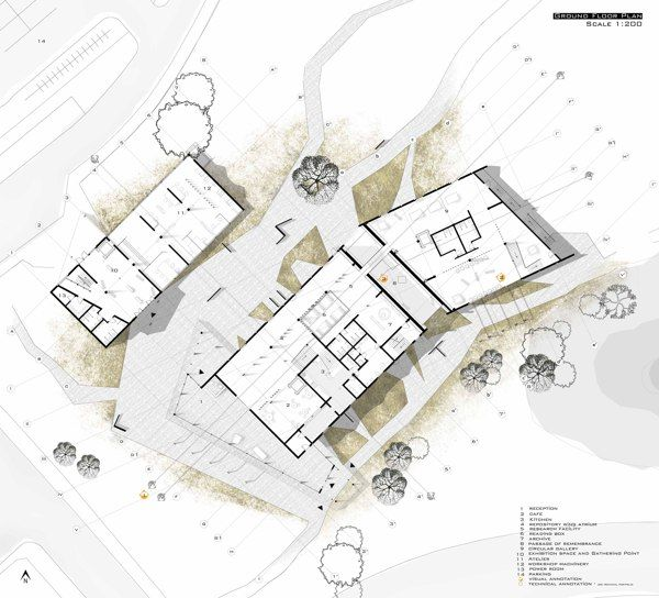 Final project yr3 the proposed venue by cali manisor via for Disegnare progetti