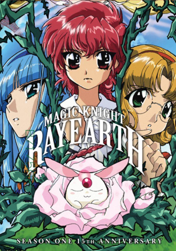 Magic Knight Rayearth Season 1 Remastered DVD Anime