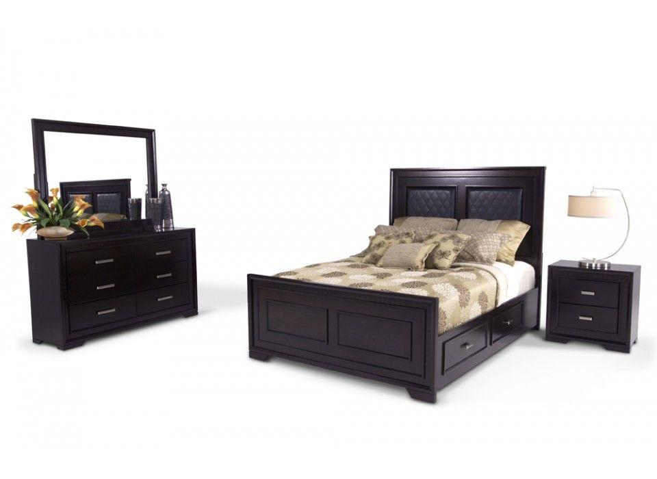 Bentley 7 Piece Queen Bedroom Set Bedroom Sets Bedroom Bob S Discount Furniture Furniture Quality Bedroom Furniture Discount Bedroom Furniture