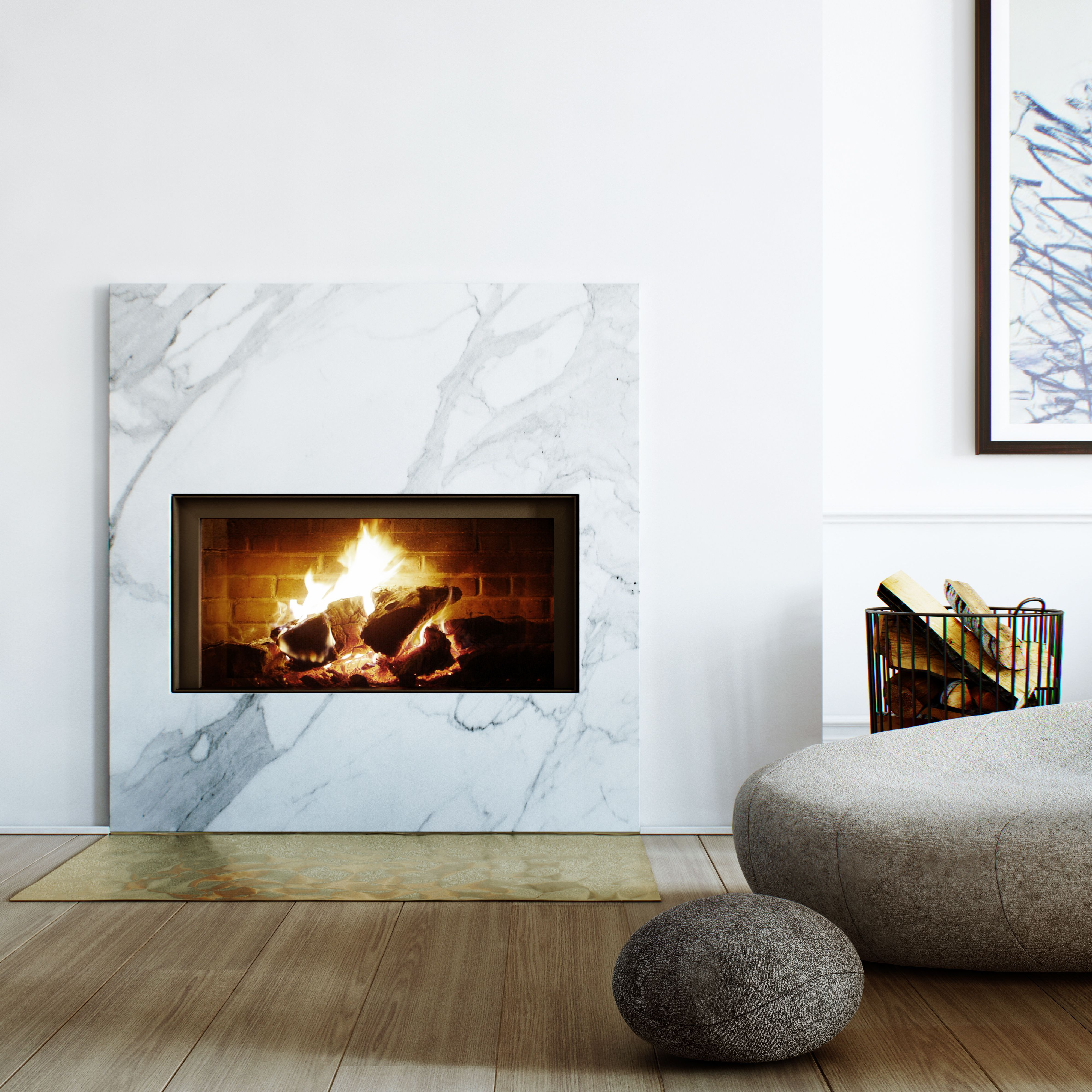 Marble Fireplace Surround, Marble Fireplaces, Modern Fireplaces, Fireplace Surrounds, Marble