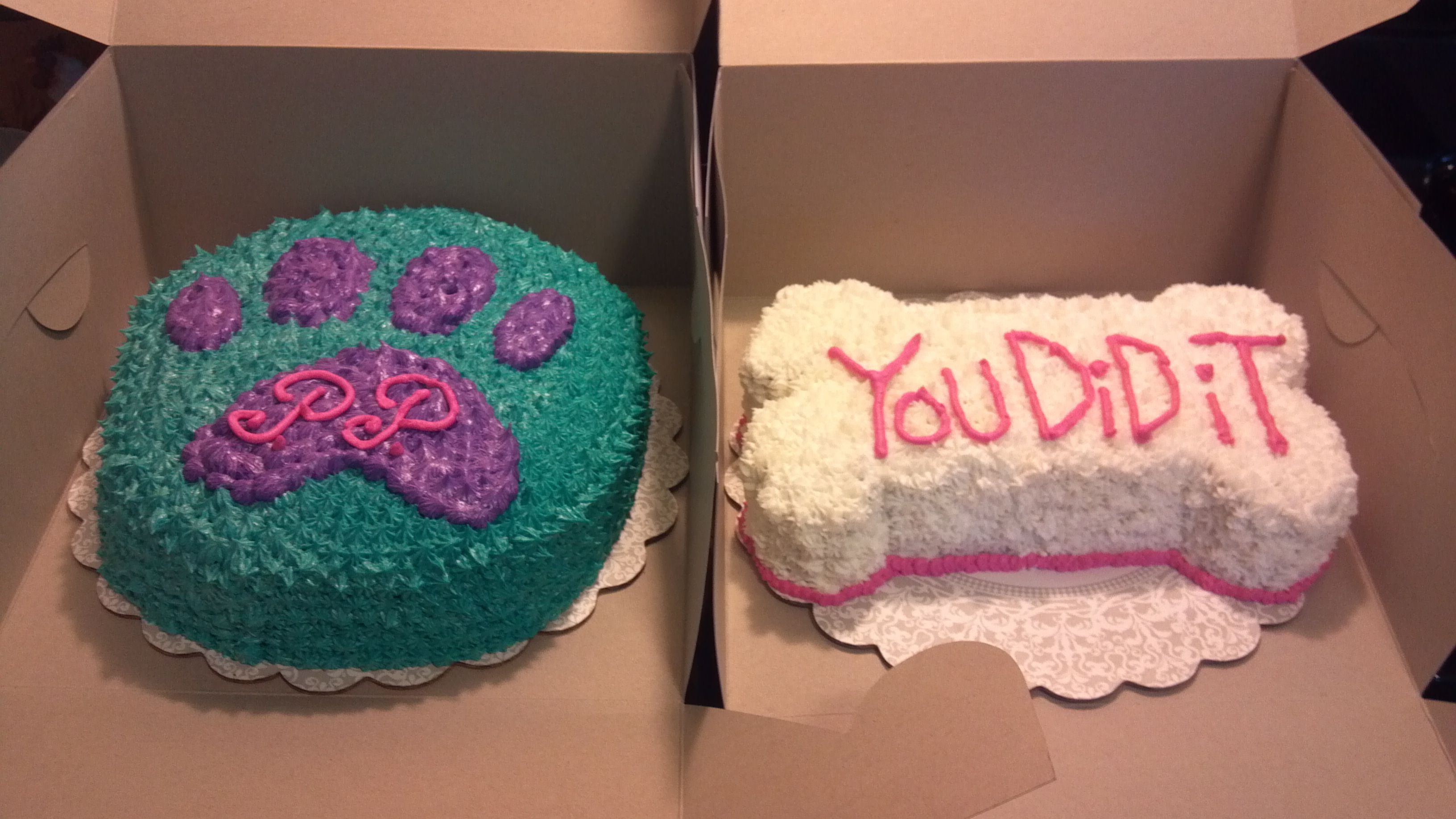 Dog Paw Cake And Bone Need To Make A For Austin Like This