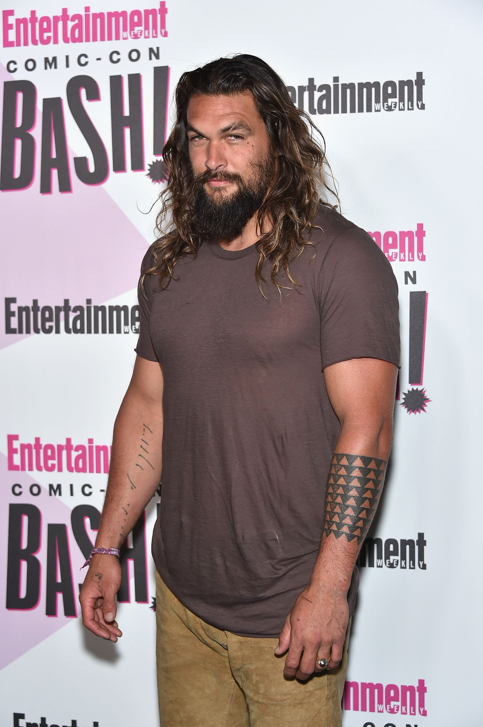 daab97ce6 Are Jason Momoa's 'Aquaman' Tattoos Actually Real? | Tattoo | Jason ...