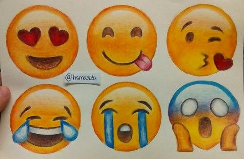 Emojis Drawing By Okay Okay We Heart It Drawings Emoji