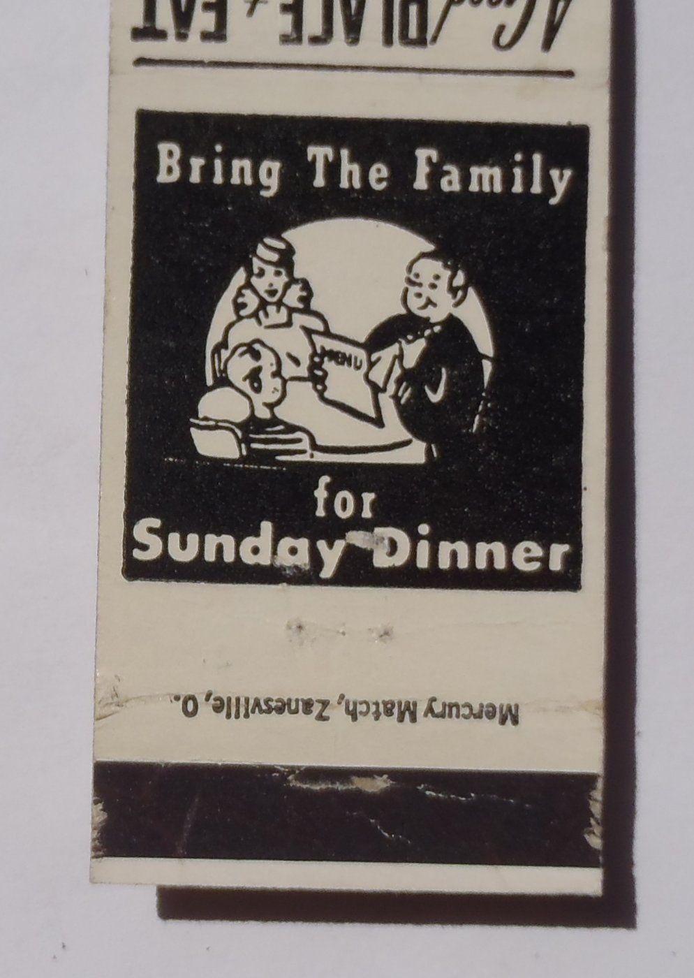 1950s Matchbook Tremont Chefonette Columbus OH   matchbooks business ...