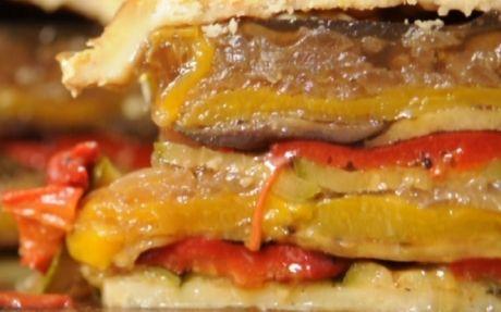 Mediterranean Grilled Vegetable Pie in 120 mins by Andy Bates