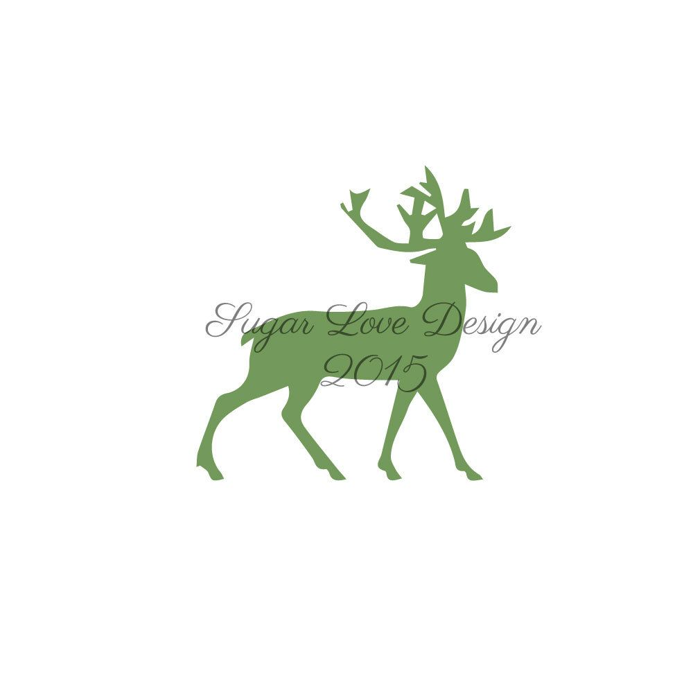 Deer Cookie Stencil- Stencils for Cookies- Stencil- Cookie ...