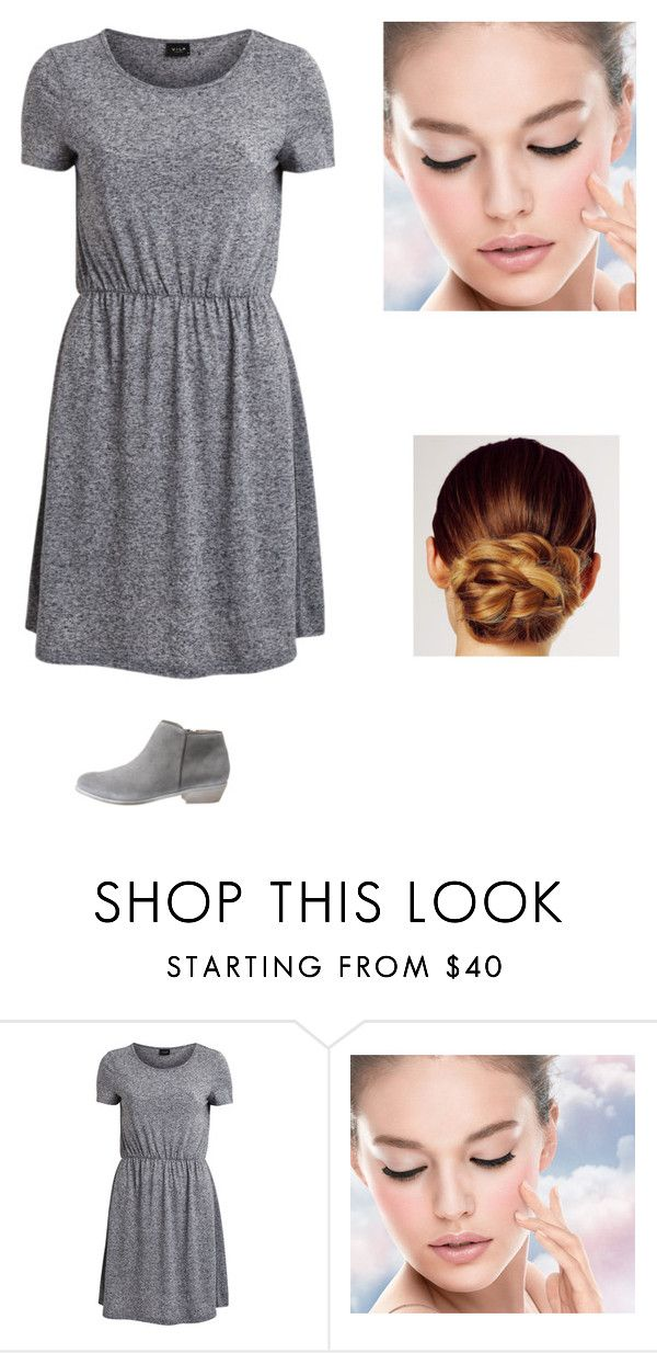 """""""14:3"""" by fahion-dreamer ❤ liked on Polyvore featuring VILA, Maybelline, Kerastase and SoftWalk"""