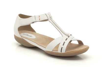 womens casual sandals  raffi magic in white leather from