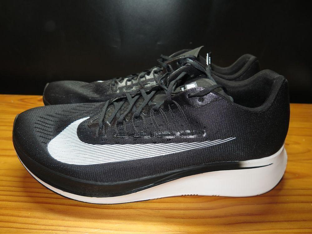 edcbe42963313 Nike Zoom Fly Running Shoes Men s Black White Anthracite 880848 001 Size 14   fashion