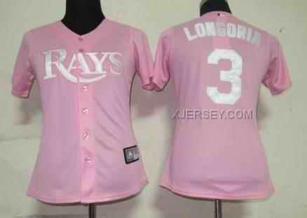 http://www.xjersey.com/rays-3-longoria-pink-women-jersey.html Only$35.00 RAYS 3 LONGORIA PINK WOMEN JERSEY Free Shipping!