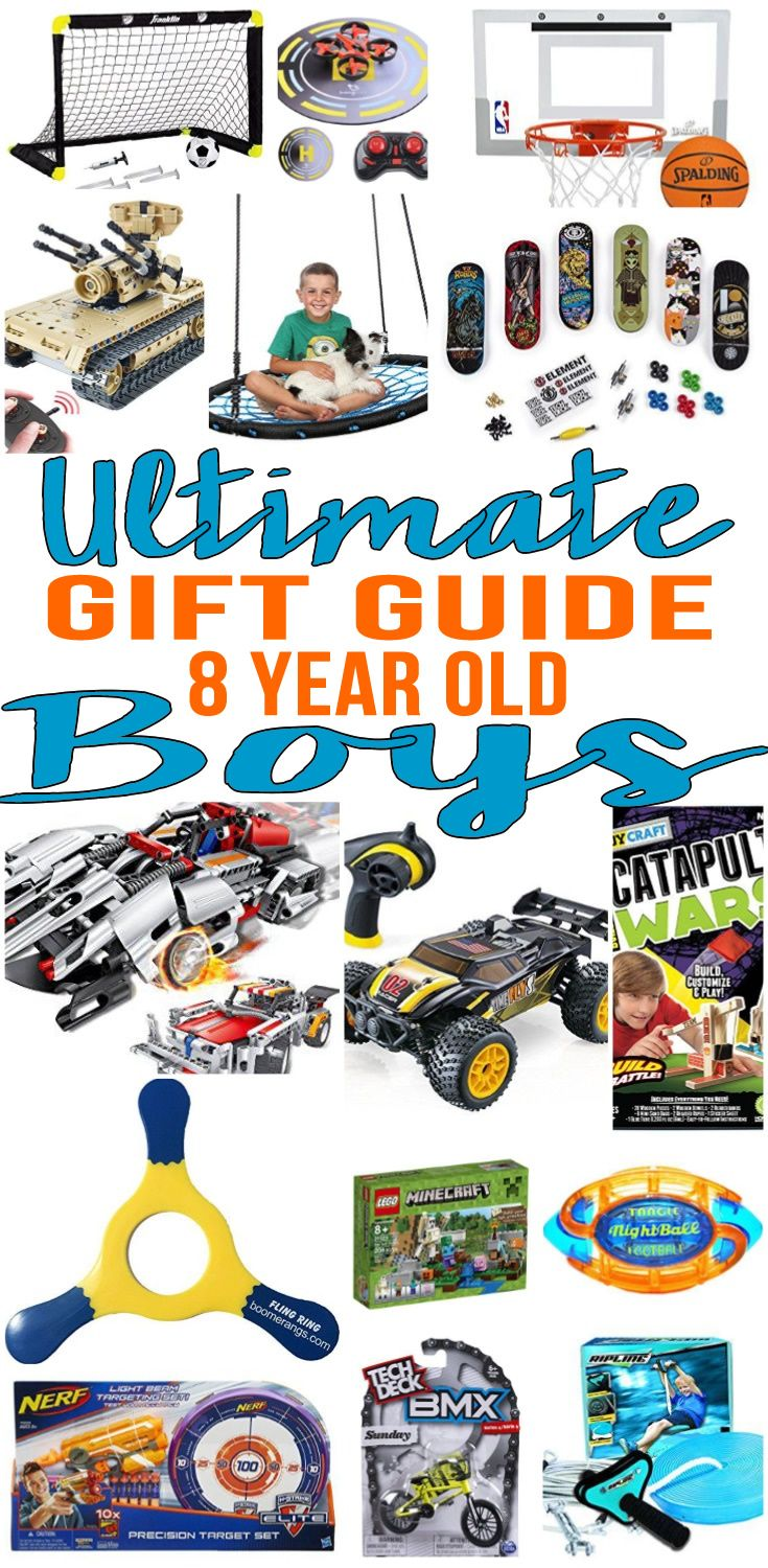 Christmas gift ideas for eight year old boy