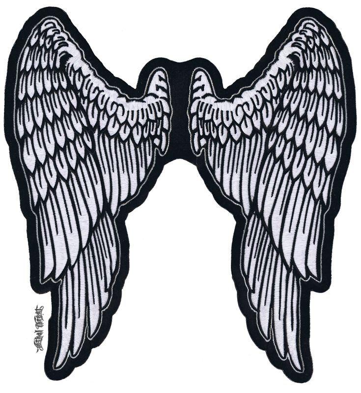 Angel wings clipart angel wing patches angel wings