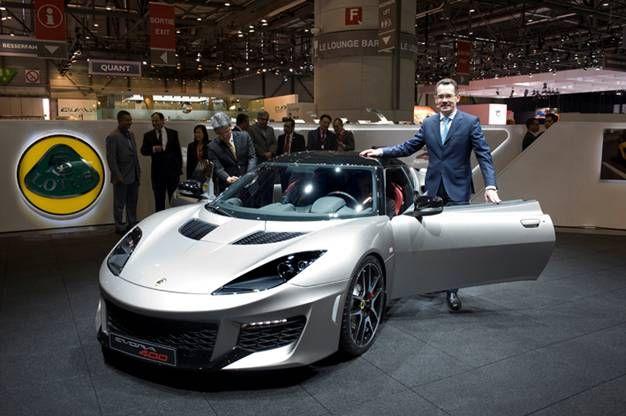 Motor'n | Lotus Evora 400 debuts at the Geneva Motorshow