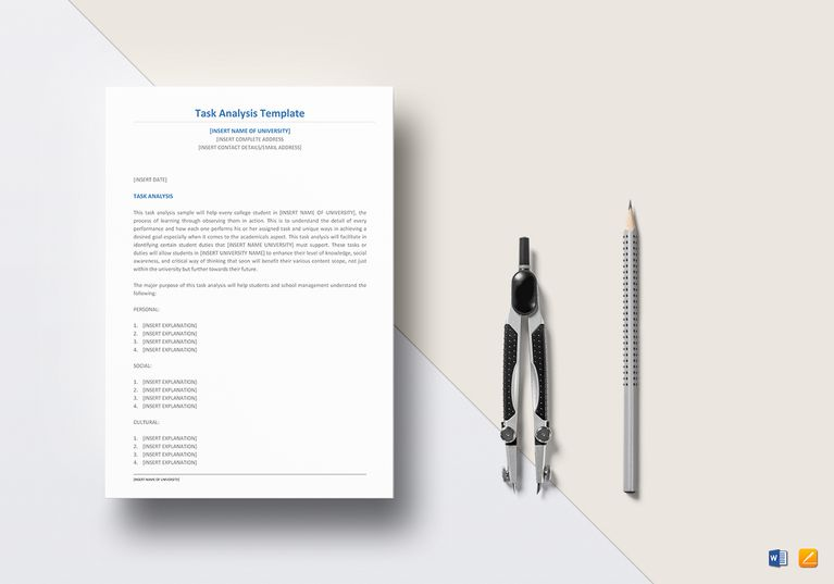 Task Analysis Template Analysis Templates Pinterest - Analysis Spreadsheet Template