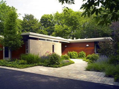 Mid Century Modern Homes Landscaping mid century ranch houses | mid-century ranch remodel | new home