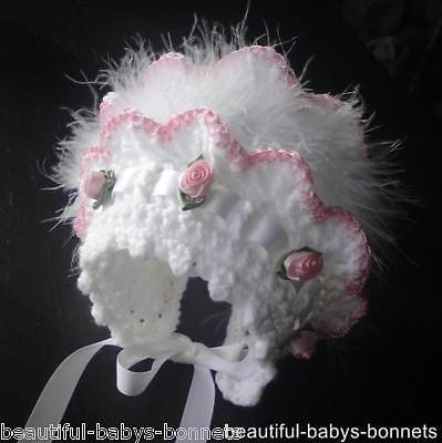Crochet Pattern By Beautiful Babys Bonnets For 2 Vintage