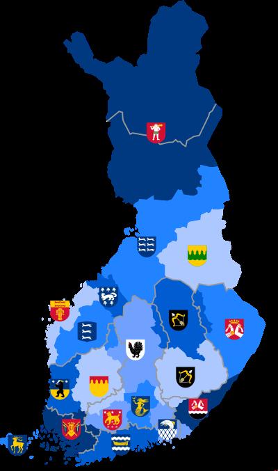 Regions in Finland.svg