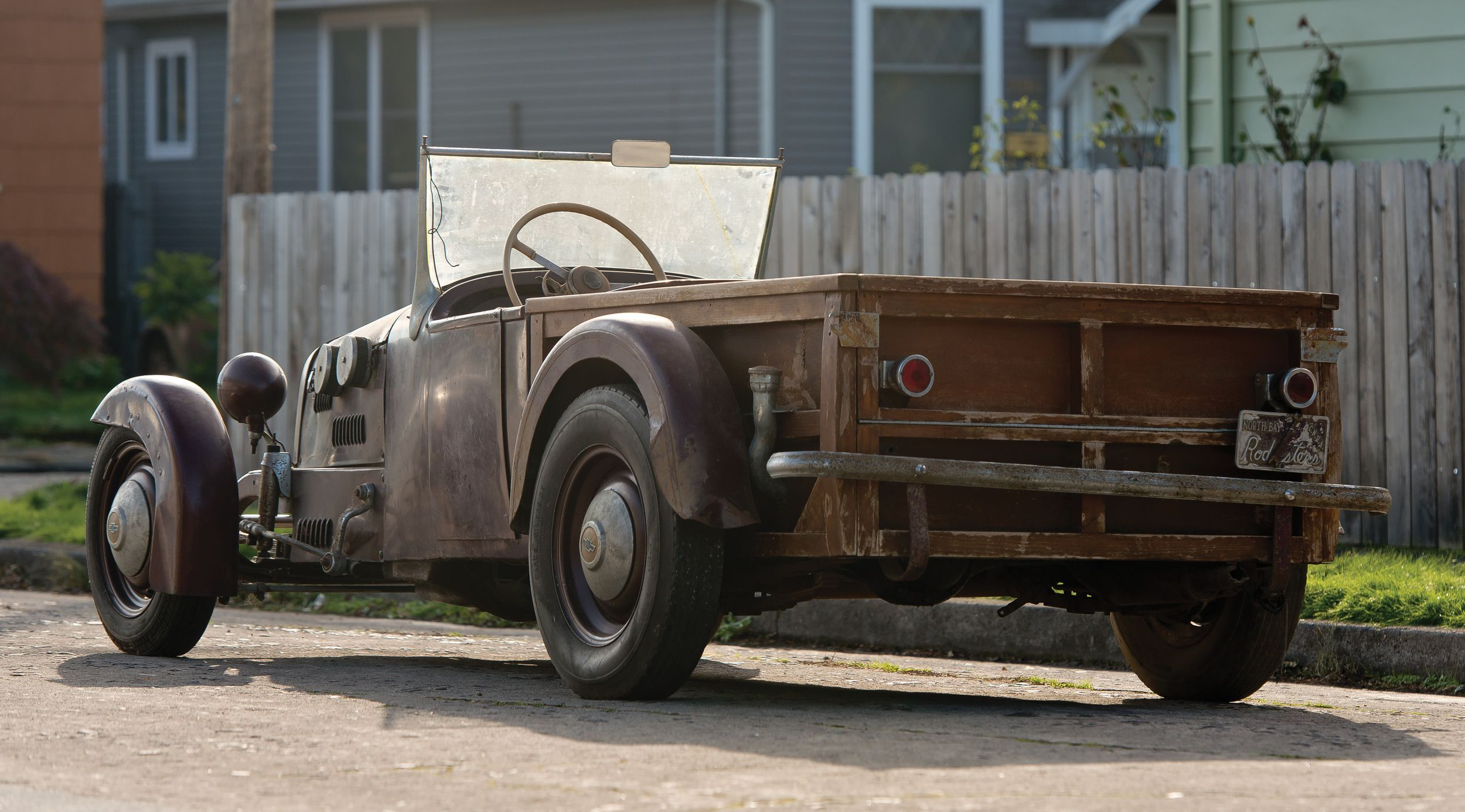 Not your average hot rod: the Barbeque Stove Bolt Special heads to ...
