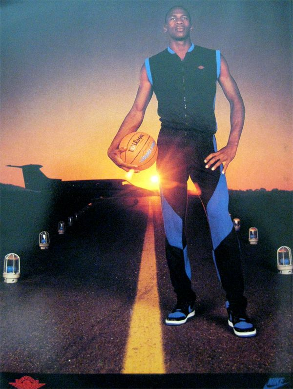 0cee093fe84dbf Michael Jordan  Runway  Nike Air Jordan Poster (1985)