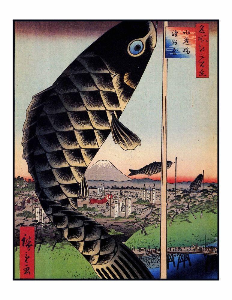 Traditional Japanese Woodblock Wall Art Prints Easy To Frame 8 10 Series 3 Japanese Woodblock Printing Japanese Art Japanese Prints