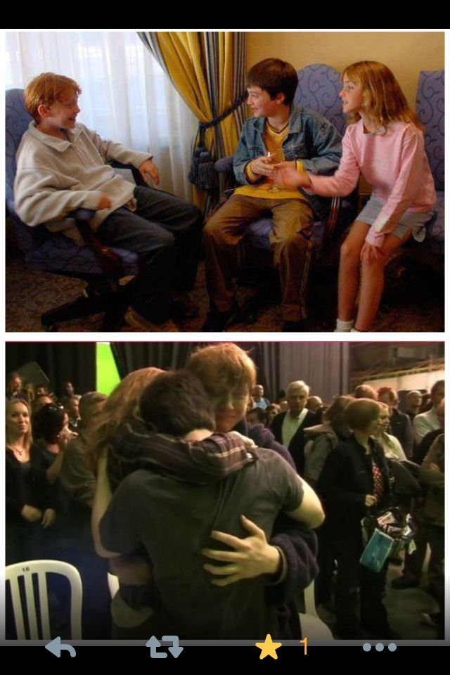 First and last day, Harry Potter