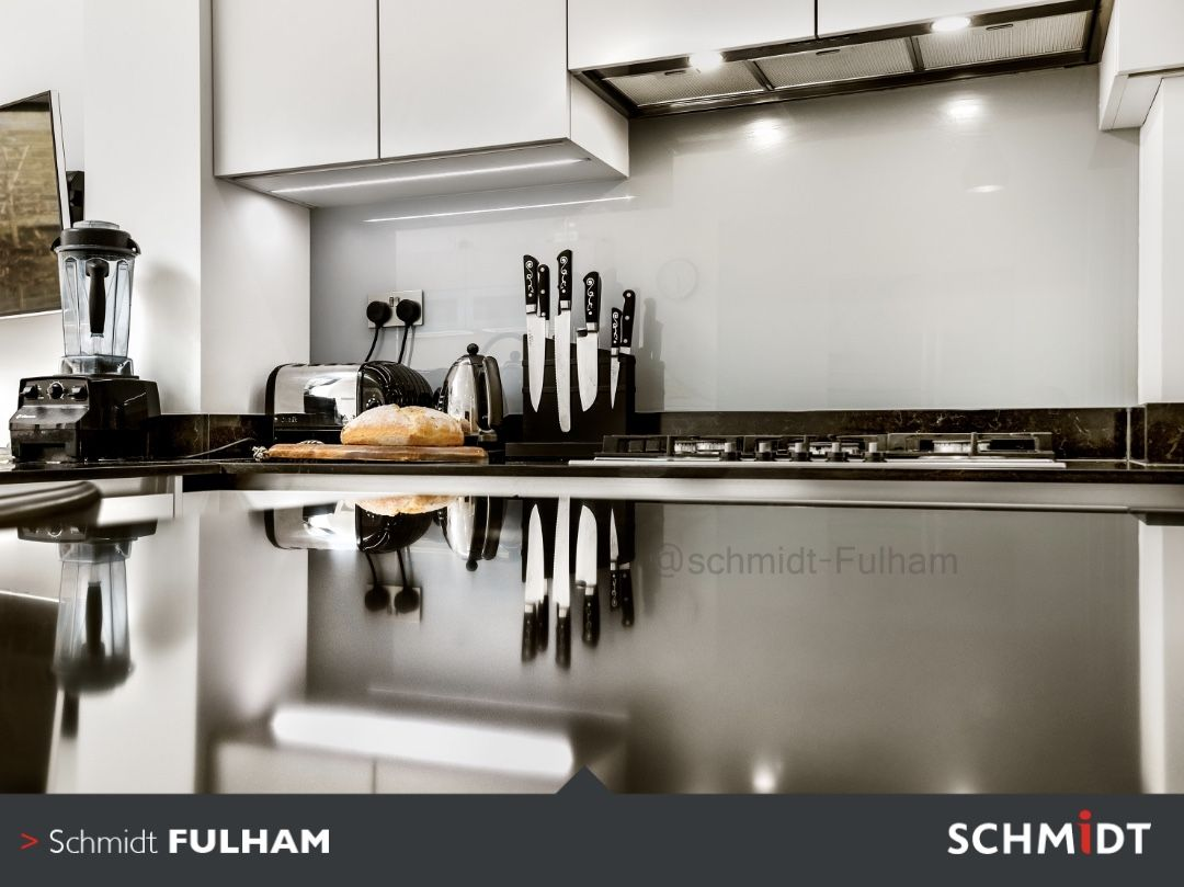 Having The Reflective Surfaces Gives The Kitchen More Light And