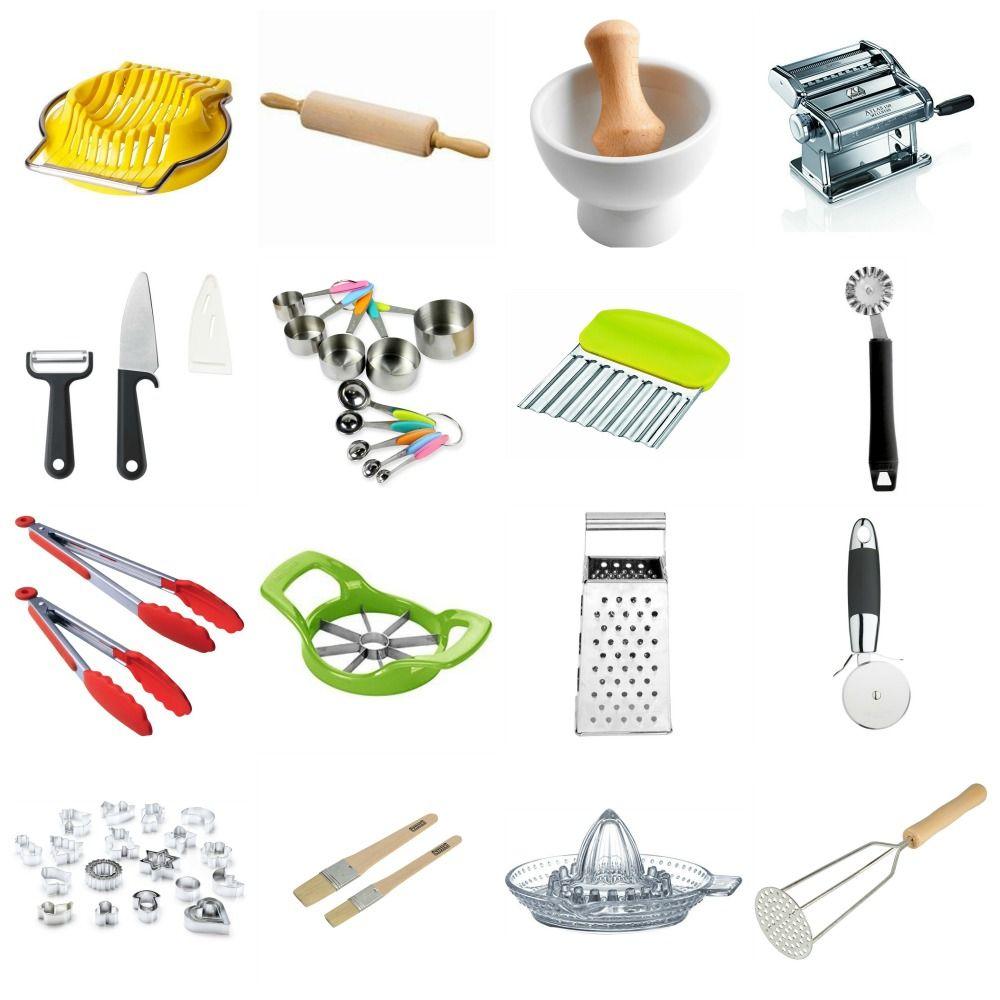 Accessori di cucina per bambini. Montessori in cucina: gli utensili ...