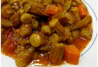 Para muchos fanáticos de la comida saludable, el quimbombó (okra) es una de las comidas reconfortantes favoritas. La textura crujiente de la piel y la pegajosa consistencia interna se derrite en su boca, siendo una comida feliz en un día frío y sombrío.